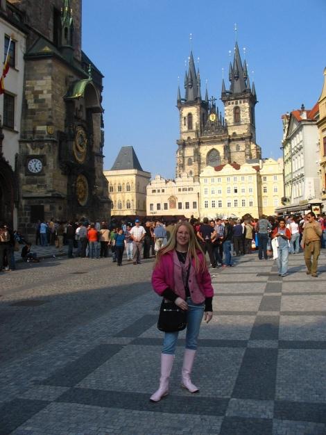 Piazza vecchia a Praga