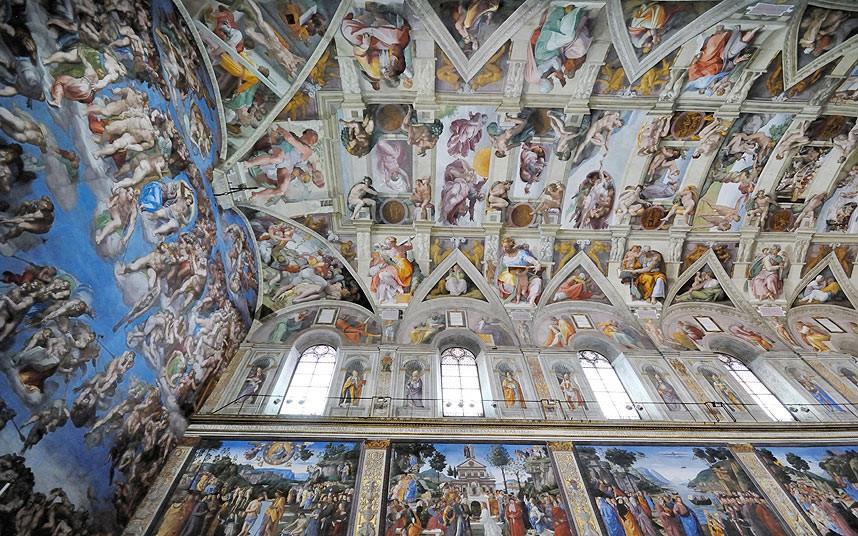 Citt del vaticano e la cappella sistina il passaporto for Decorazione quattrocentesca della cappella sistina
