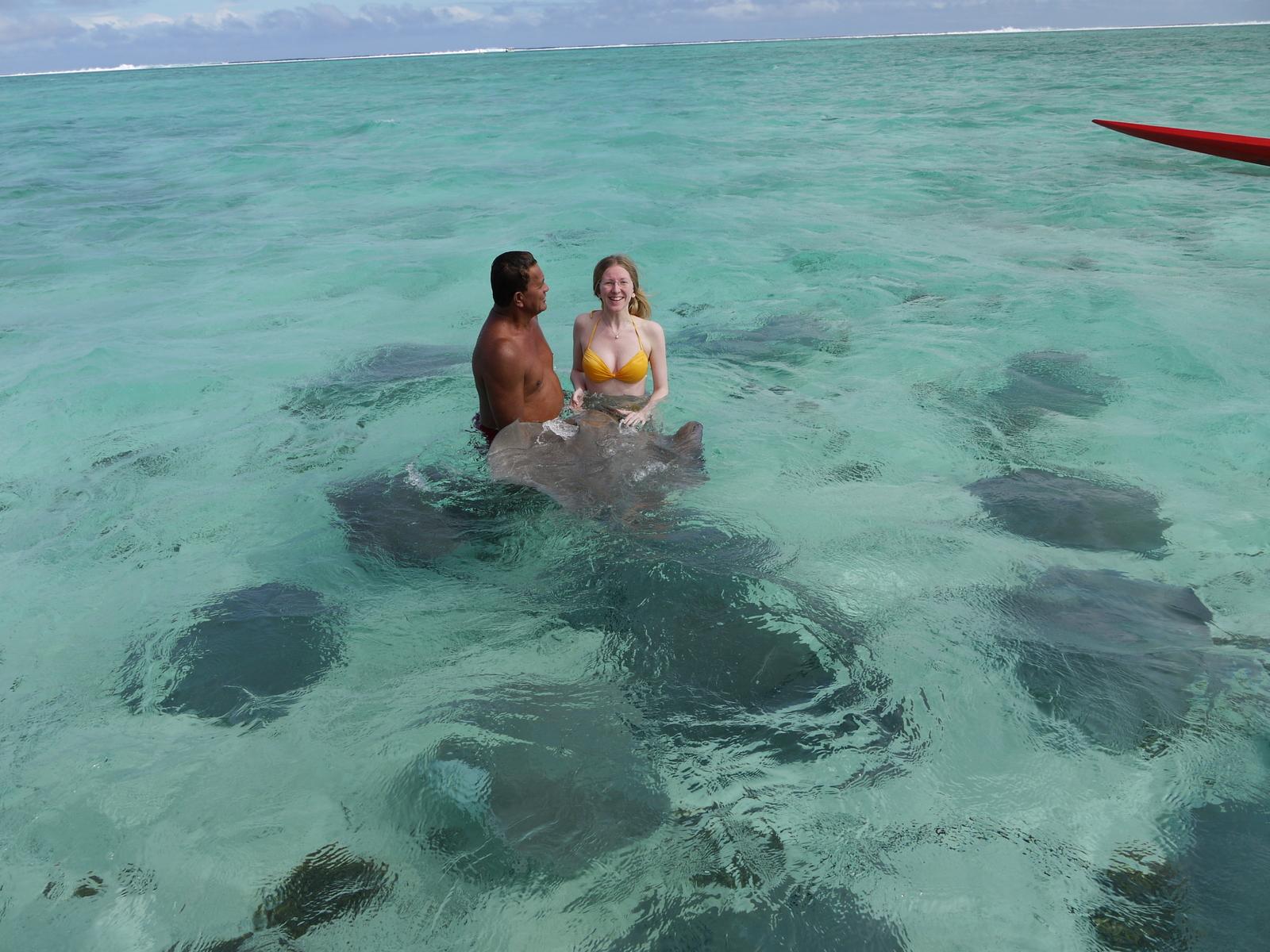 Polinesia francese il sogno il passaporto di gio - Bagno con gli squali sudafrica ...