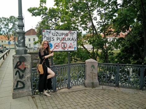 Uzupis Lituania Vilnius