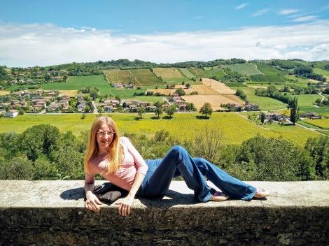 Panorama da Castell'Arquato