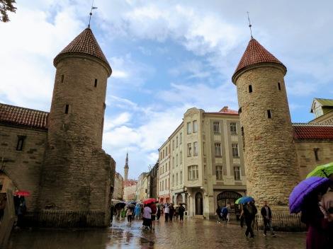 Scorcio di Tallinn