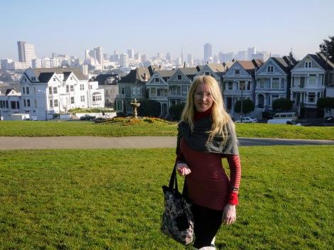 San Francisco Alamo Square e le Painted Ladies