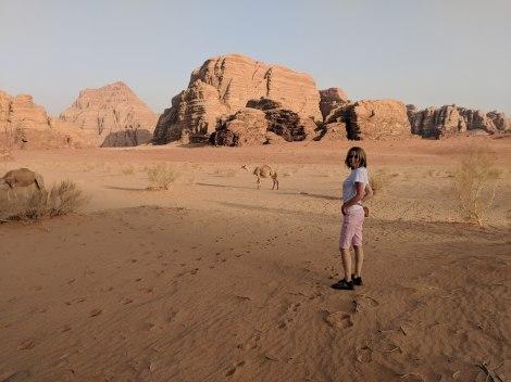 Scorci del Wadi Rum