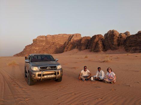 Tè nel deserto Giordania