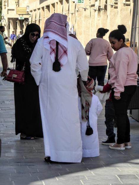 Qatar abaya