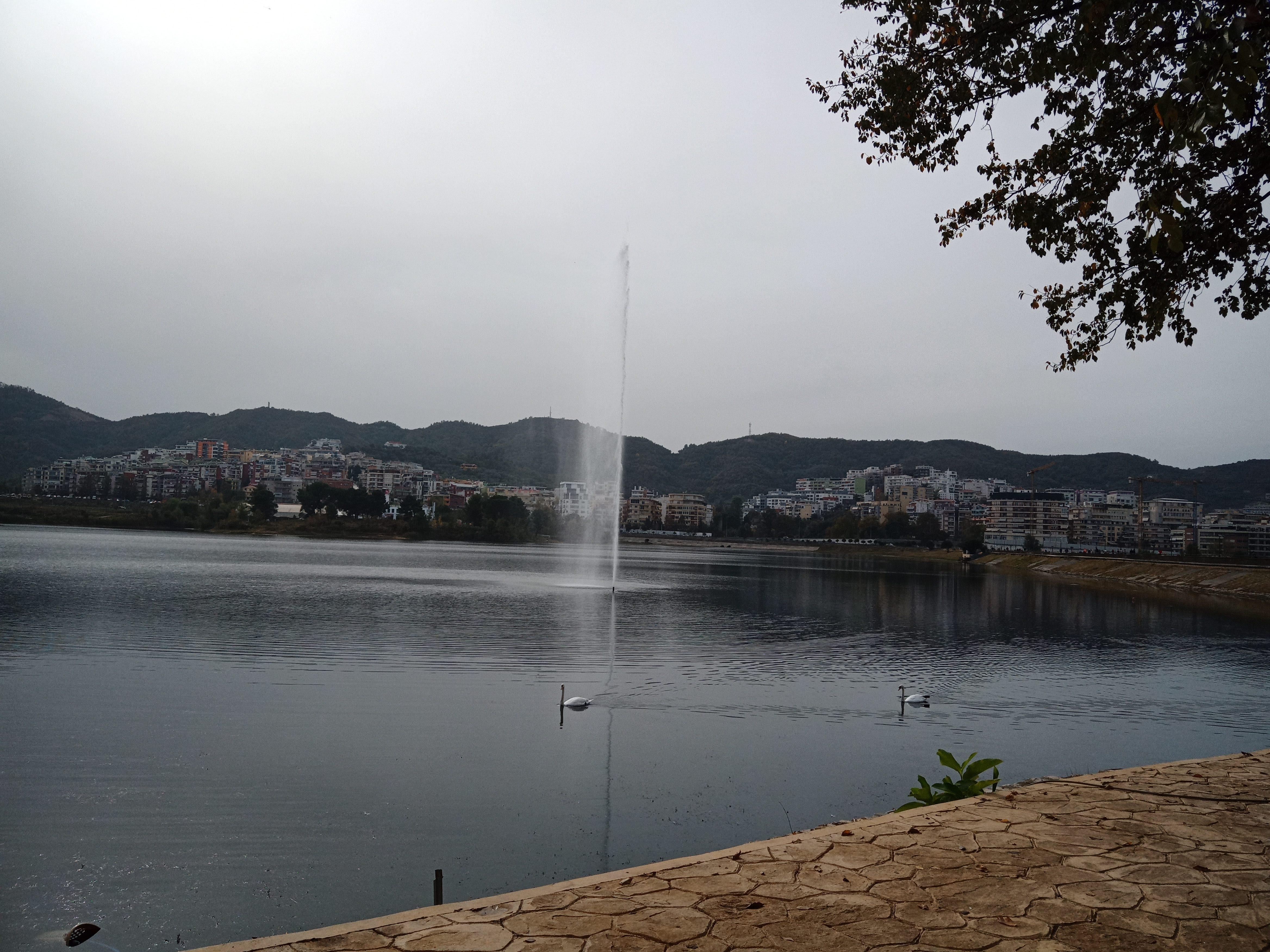 Lago Artificiale di Tirana