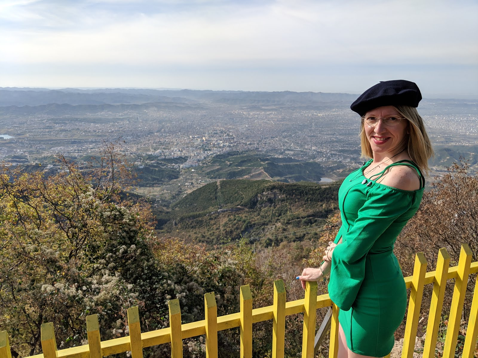 Monte Dajti Tirana panorama