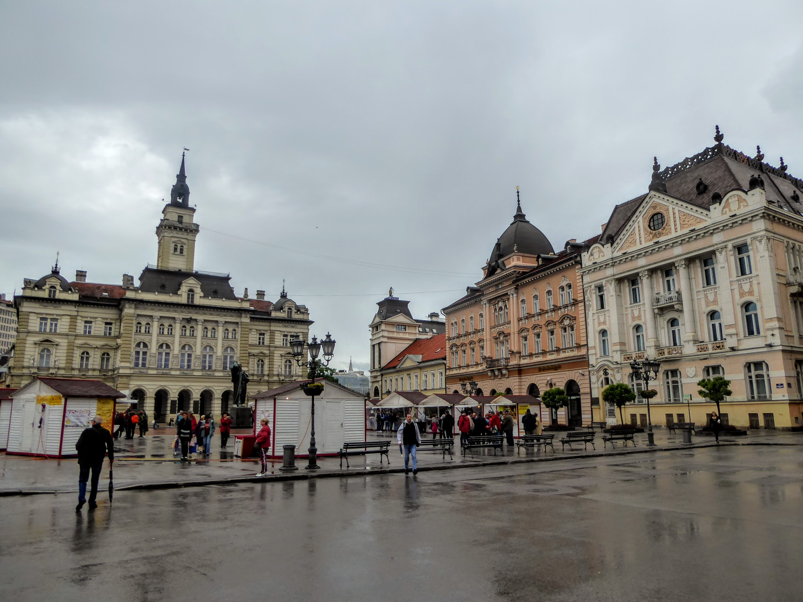 Piazza principale di Novi Sad
